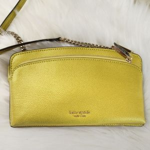 New Kate Spade East West Sylvia Purse Yellow